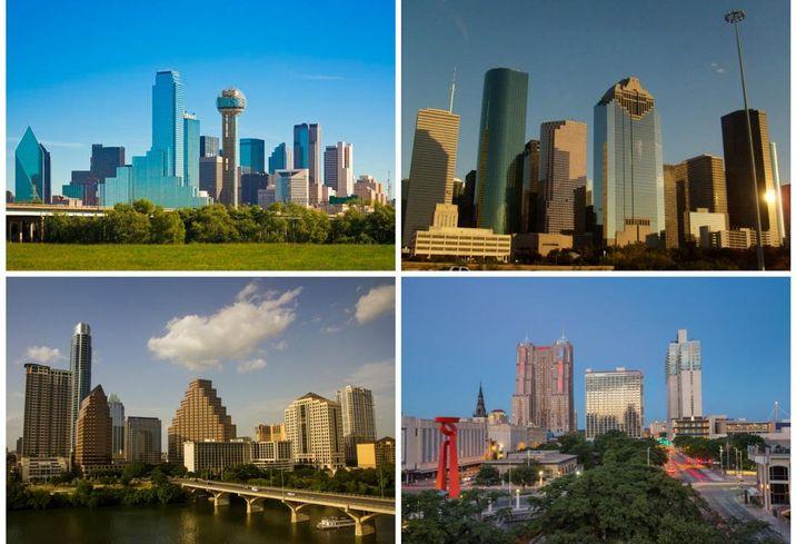 Texas Collage
