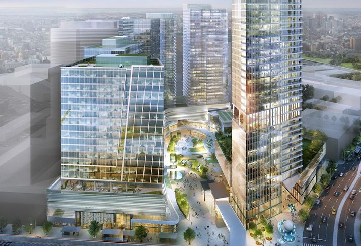 View at Tysons rendering