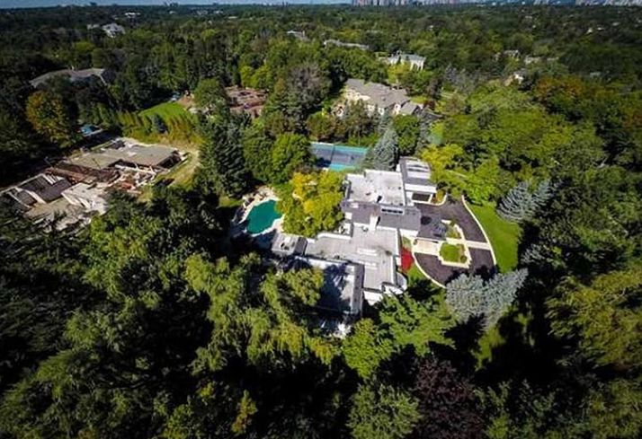 Toronto's Top 10 Most Expensive Residences Includes Prince's Former Digs