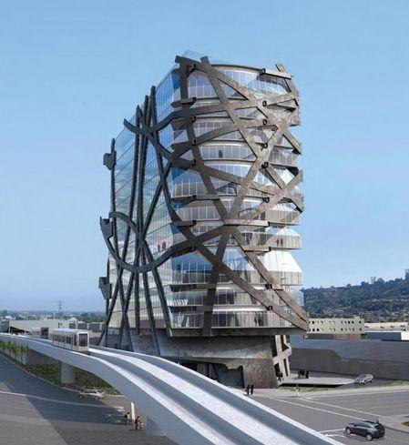Wrapper Tower in LA