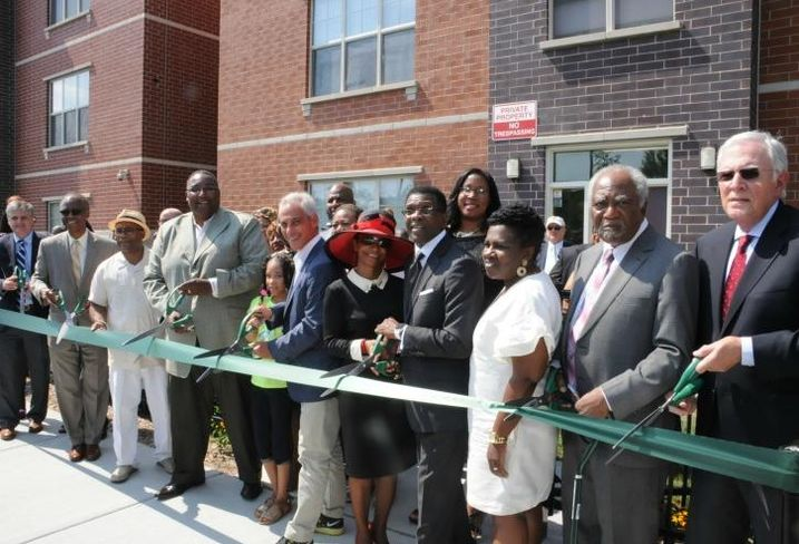 Harvest Homes ribbon cutting ceremony, Chicago