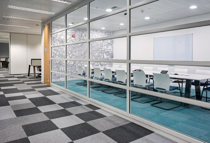 Instant managed office boardroom
