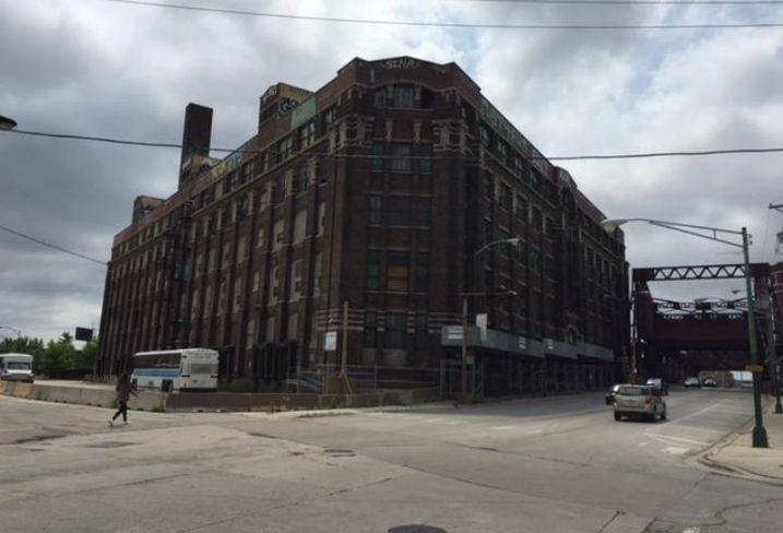 A warehouse in Chicago's Pilsen neighborhood.