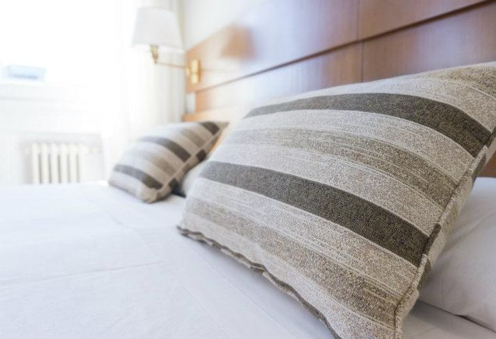 Hotel, apartment, pillow, bed, sleeping, luxury hotel edited