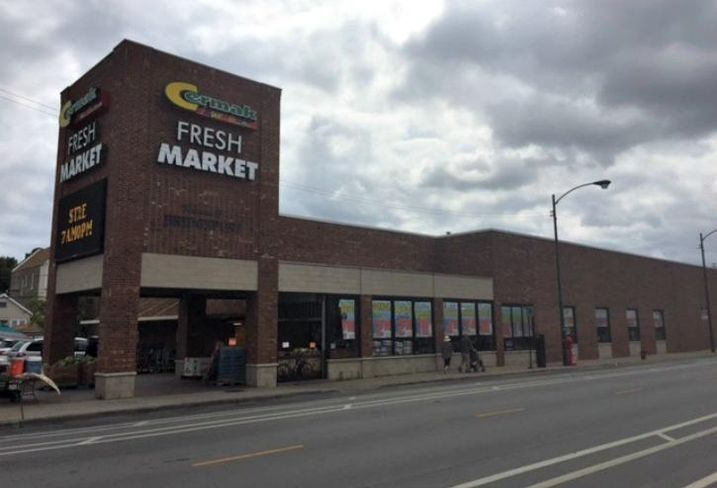 A Cermak Fresh Market in Chicago's Bridgeport neighborhood.