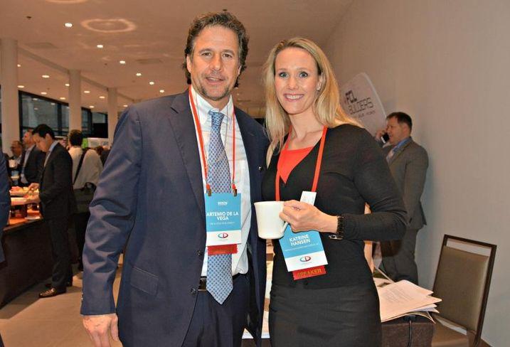 De La Vega Development's Artemio De La Vega and Partner Engineering and Science Inc.'s Katrine Hansen