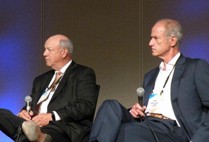 Venture One Real Estate Founding Principal Mark Goode and HSA Commercial Real Estate CEO Bob Smietana