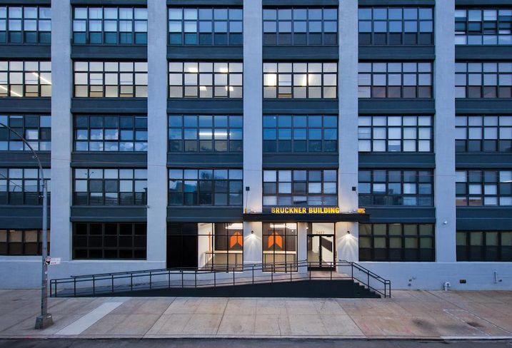 Bruckner Building in the Bronx