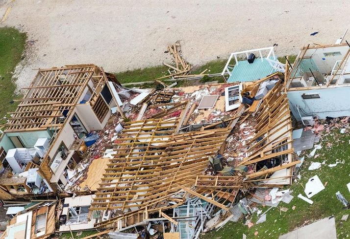 Harvey Home Devastation