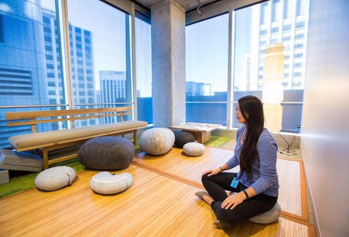 Salesforce's Top Floor Amenity Is A Rarity In Office Design
