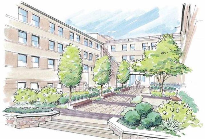 Howard George Washington Carver Hall UIP Redevelopment