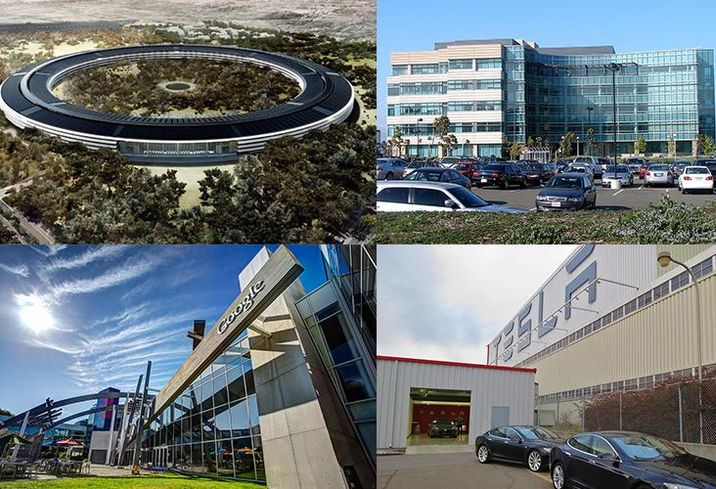 These Bay Area-Based Tech Companies Pay Millions In Property Taxes
