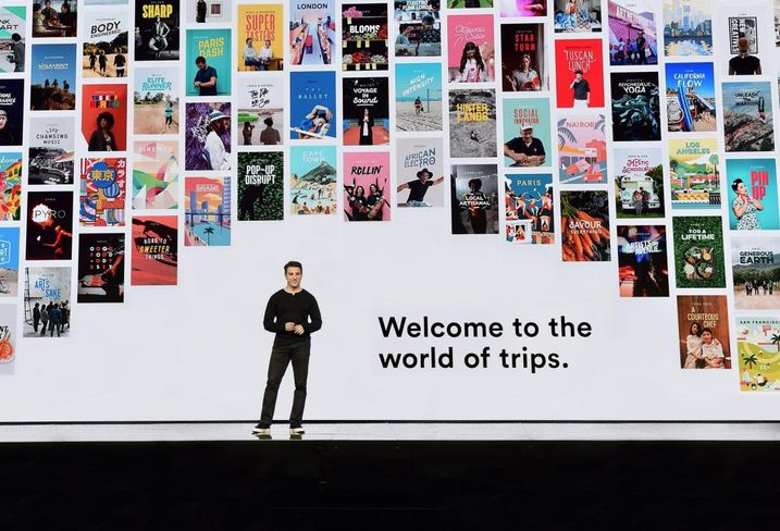 Airbnb Trips, Brian Chesky