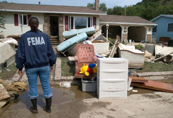 FEMA Flooding Damage