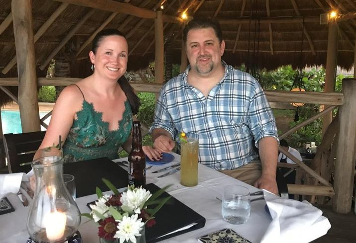 Hanley Investment Group's Kevin & Maria Fyman in Playa del Carmel, Mexico