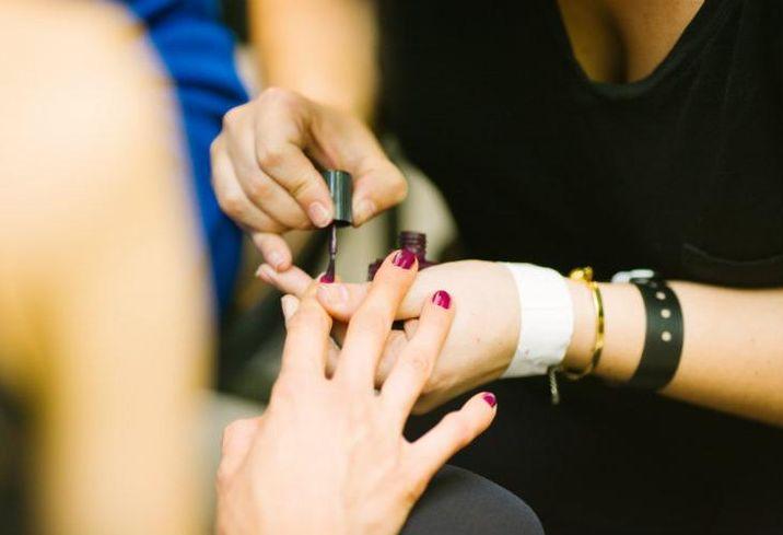 Manicurist, nail, salon, nordstrom