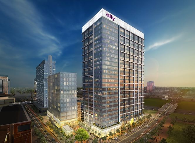 Ally To Take 400K SF Of Crescent Communities' New Office Tower In Charlotte