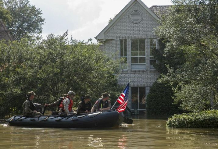 Harvey Rescue During Flooding