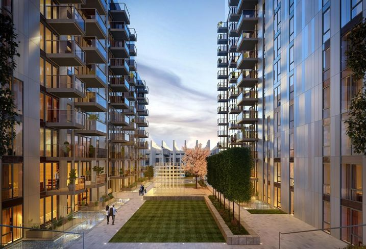 Alto at Wembley Park, London, developed by Quintain