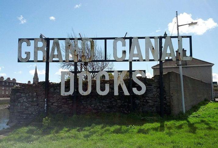 Grand Canal Docks, Dublin, now the city's