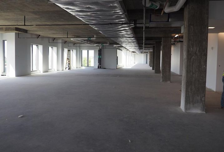 Hine School 700 Penn floor plate