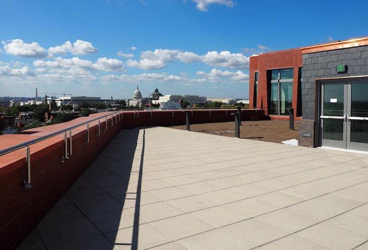 700 Penn rooftop terrace