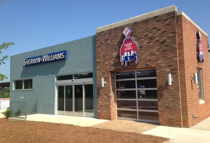 Sherwin Williams in NoDa, Charlotte
