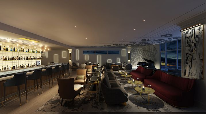 The Skybar on the hotel's top level will feature live, local music