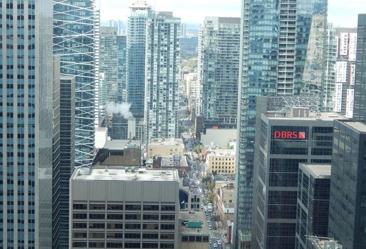 Avison Young office investment downtown Toronto