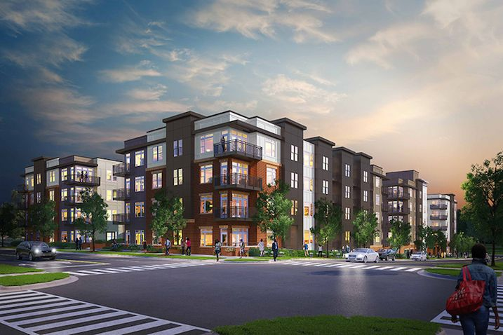 The first residents have begun moving into Centric LoHi