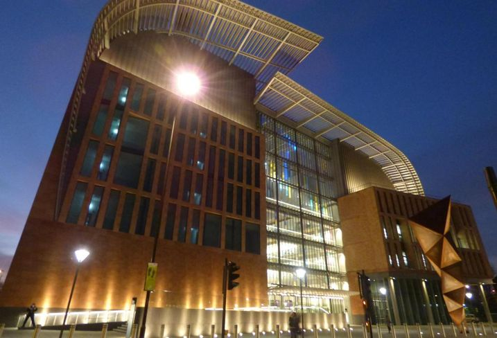 Franics Crick Institute, near St Pancras/Kings Cross, London
