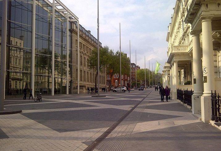 Exhibition Road, South Kensington, London