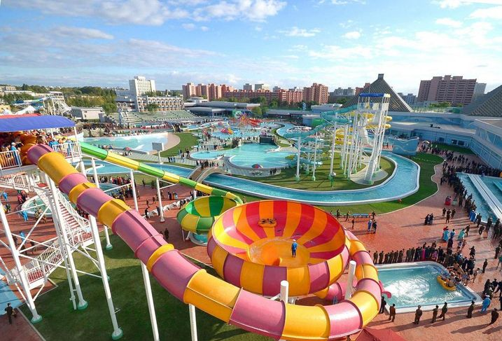 North Korea's Munsu Water Park in Pyongyang