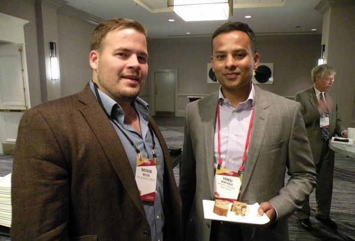 The Regency Group Regional Director Nachum Meyers and Arbor Lodging Partners CEO Vamsi Bonthala