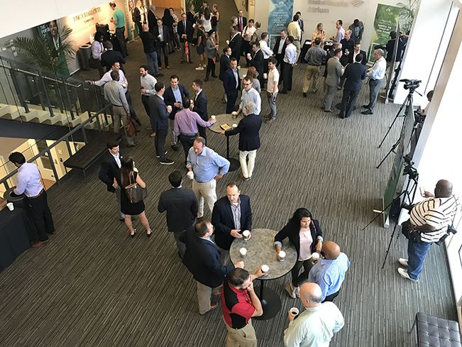 The HiveStorm Amazon HQ2 Summit, a community event to brainstorm ways to get Amazon to consider Charlotte for its new headquarters, was held at UNC Center City last week.