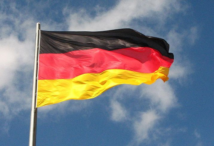 Flag Federal Republic of Germany