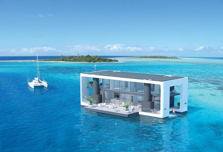 This 'Floating Home' Was Supposed To Revolutionize Housing. Some Miamians Hate It.