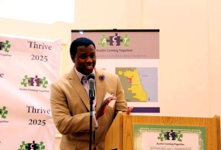 Austin Coming Together Executive Director Darnell Shields