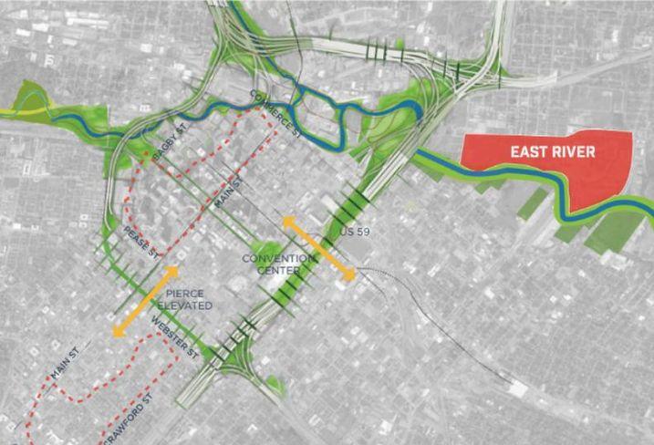 East River Size Comparison
