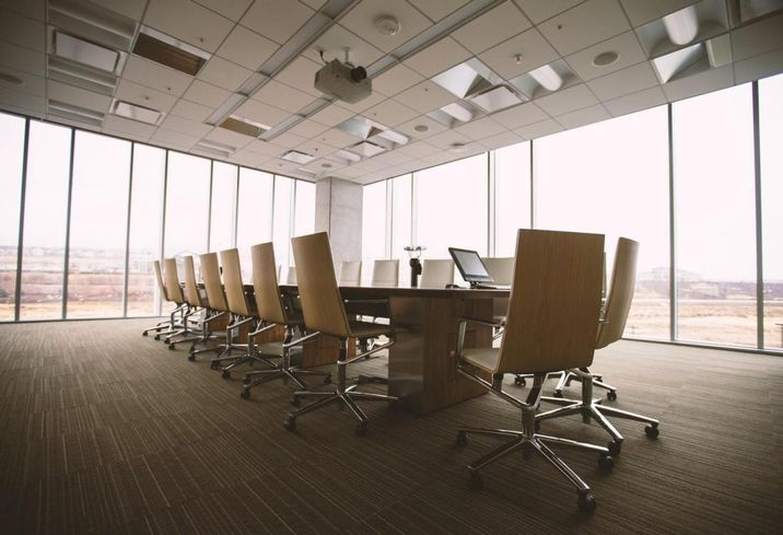 Conference rooms, meeting space, law firm
