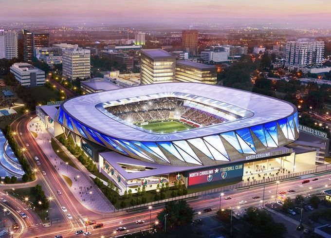 North Carolina FC Thinks Big When It Comes To Expanding Soccer In Raleigh
