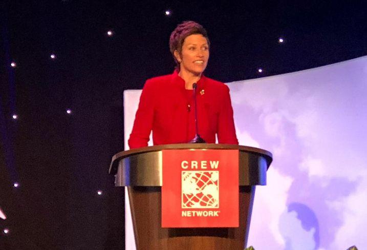 CREW Network President Alison Beddard