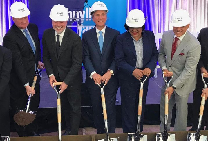 Brandywine, Drexel Break Ground For Schuylkill Yards