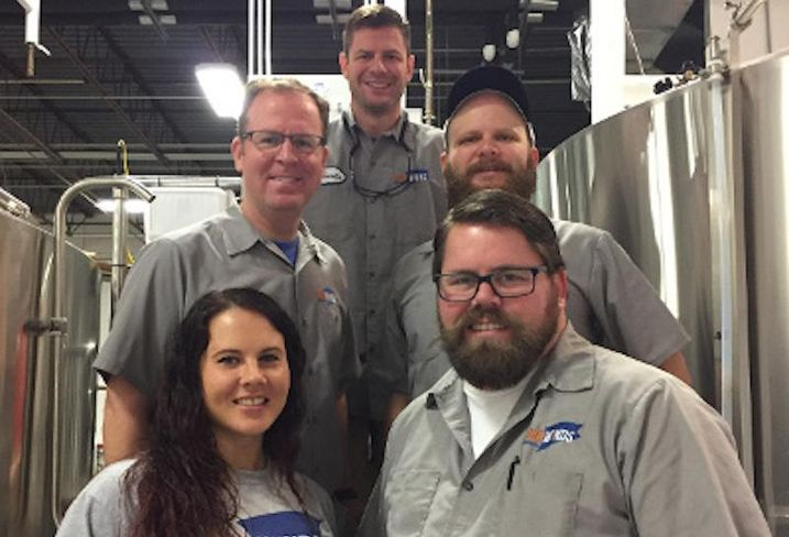 Fair Winds Brewing Co. team pic