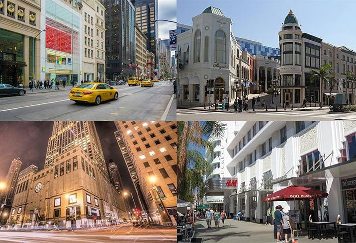 Retail Is Not Dead On These 5 U.S. Streets