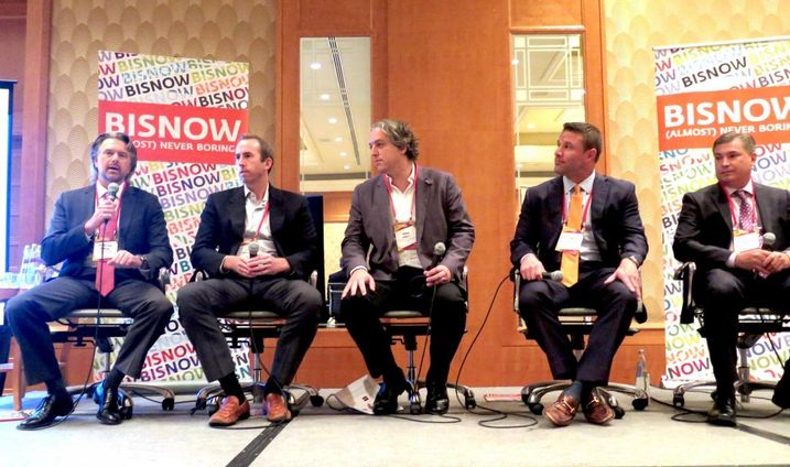Bisnow panel on multifamily, November 14, 2017 at the Four Seasons Brickell, Miami.