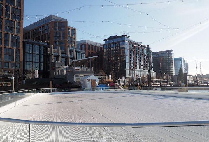 The Wharf ice rink