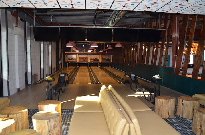 Punch Bowl Social Opens In Former Air Traffic Control Tower
