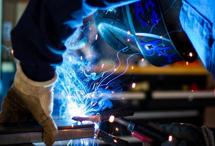 Welding Manufacturing, construction, building, construction workers