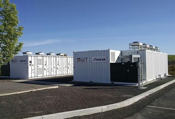 4 MWh Turner Energy Storage Project in Pullman, WA